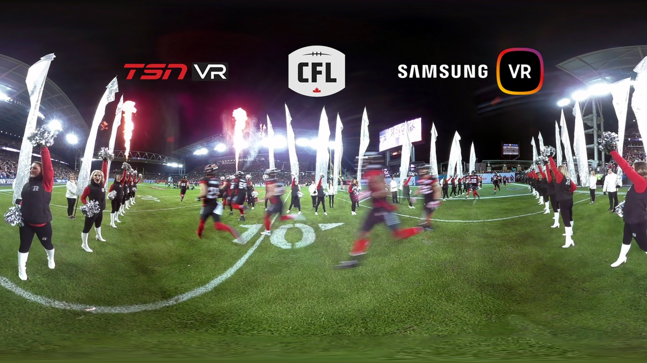 <p>Exclusive look at the CFL 104th Grey Cup in 360 virtual reality.<br> Filmed, edited, approved and prublished same-day.<br></p> <iframe width='1280' height='720' class='video-popup' src='https://www.youtube.com/embed/kHf3Rv-9V_c?autoplay=true'                                         frameborder='0'                                         allow='accelerometer; autoplay; encrypted-media; gyroscope; picture-in-picture'                                         allowfullscreen></iframe>