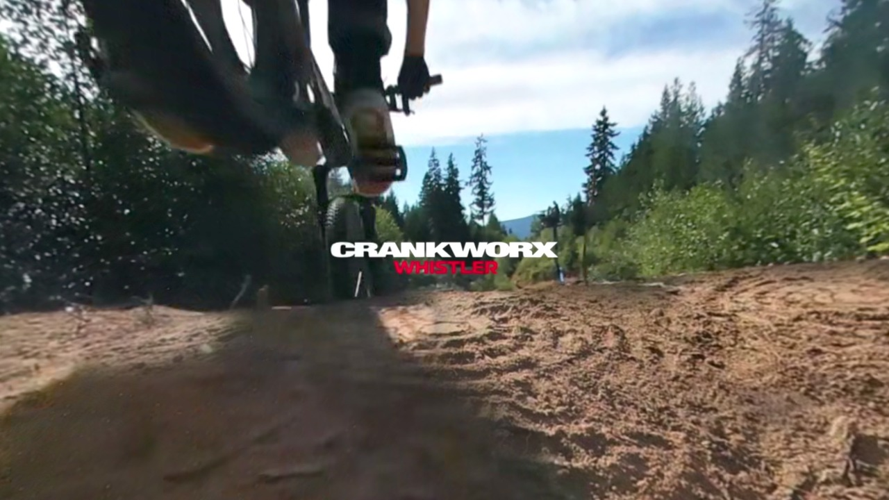 <p>Watch as the 4-time Crankworx Slopestyle mountain bike champion, Brandon Semenuk, prepares to take on the 2016 competition in Whistler, BC. See him hit the air at 10K frames a second and see what he sees from a head mounted Samsung Gear 360 POV. <br></p> <iframe width='1280' height='720' class='video-popup' src='https://www.youtube.com/embed/YhWNCxjPYEg?autoplay=true'                                         frameborder='0'                                         allow='accelerometer; autoplay; encrypted-media; gyroscope; picture-in-picture'                                         allowfullscreen></iframe>